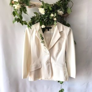 Elizabeth and James Ivory fitted blazer jacket